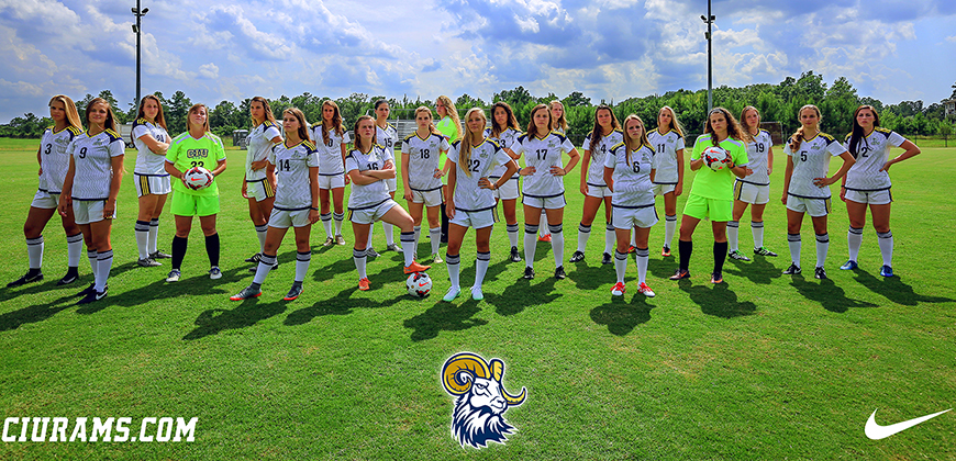 The CIU 2017 women's soccer team
