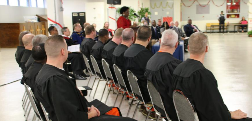 CIU Prison Initiative graduation 2018
