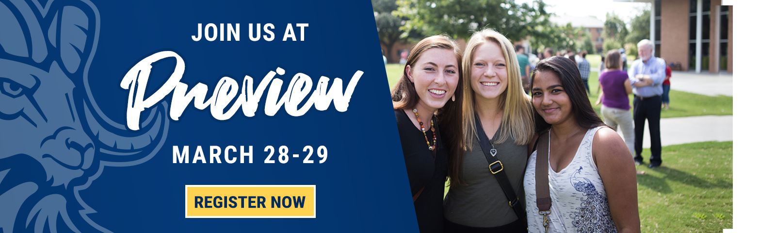 Preview Day at CIU is March 28-19, 2019
