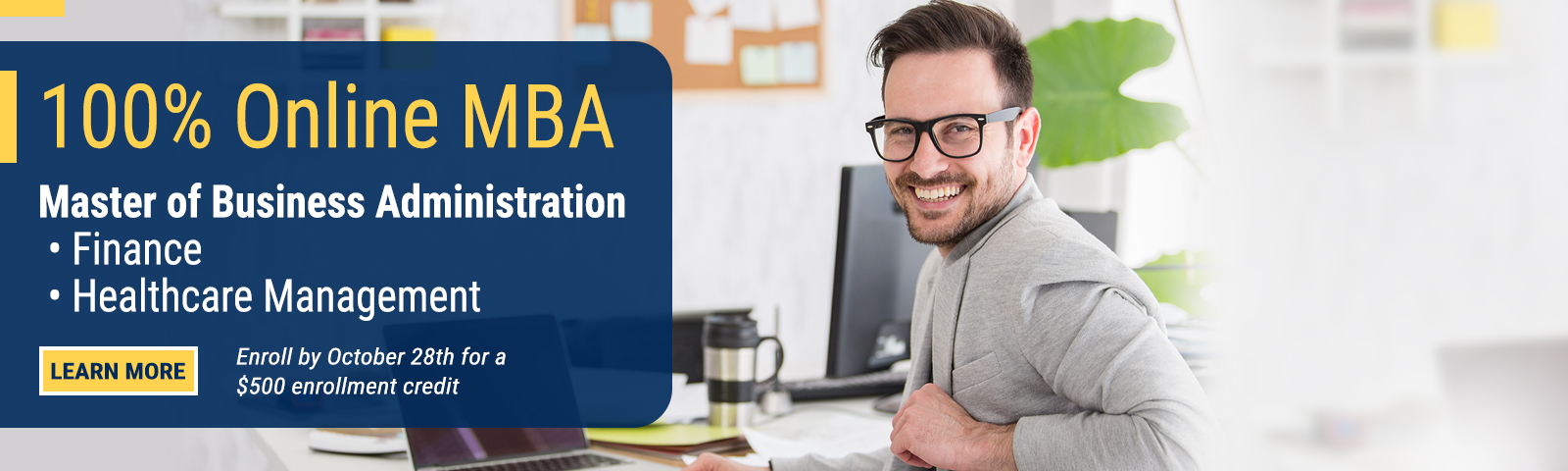 Earn your business or MBA degree 100% online from CIU, an accredited online college.