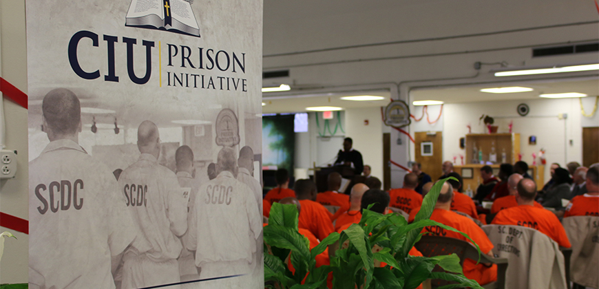 Some CIU Prison Initiative graduates server as mental health companions.