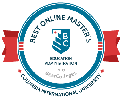 2019 Best Online Master's in Educational Administration by BestColleges.com