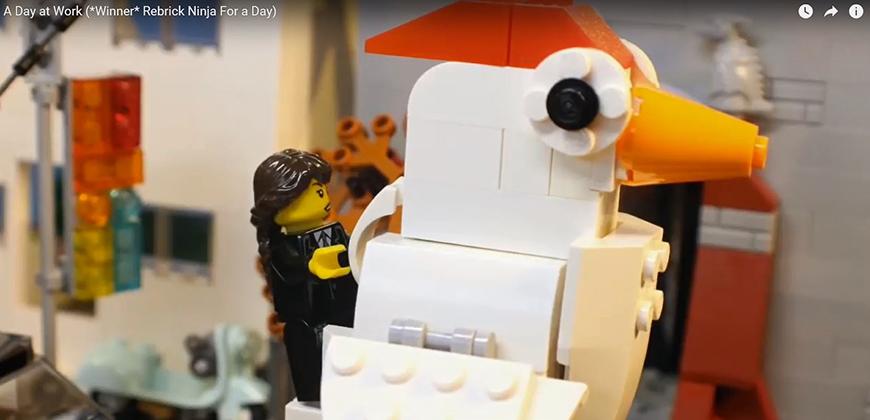 LEGO movie contest winner by CIU student Johnathan Rabon