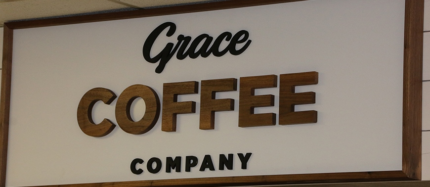 CIU's new coffee bar is owned by CIU alumnus Matt Beyer.