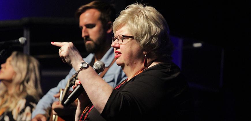 Christian author and speaker Liz Curtis Higgs