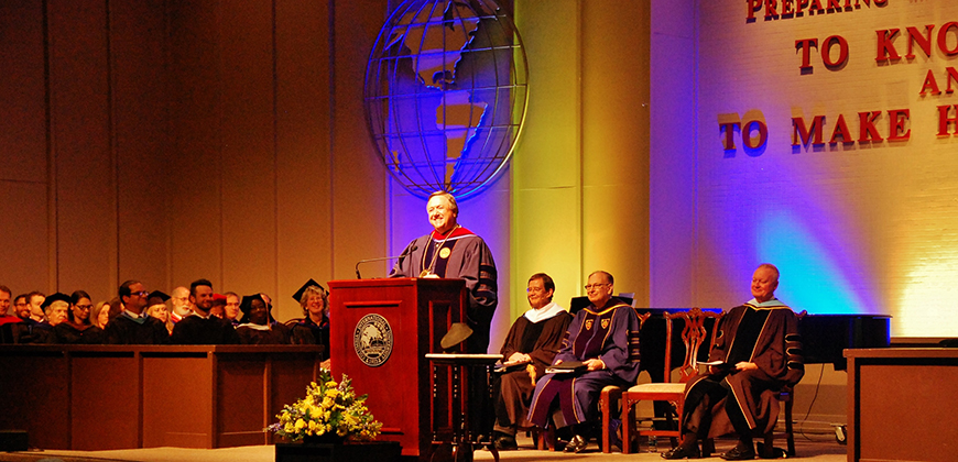 CIU President Dr. Mark Smith