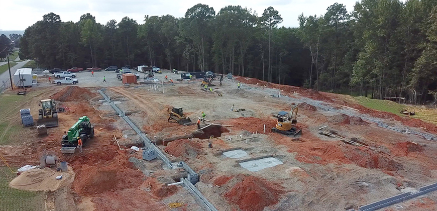Building the William H. Jones Global Business & IT Center at CIU