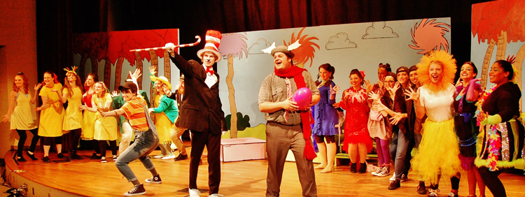 The cast of Seussical the Musical