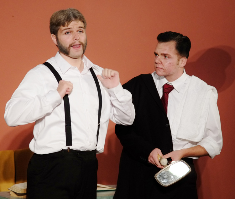 """""""The Matchmaker"""" performed at Columbia International University"""