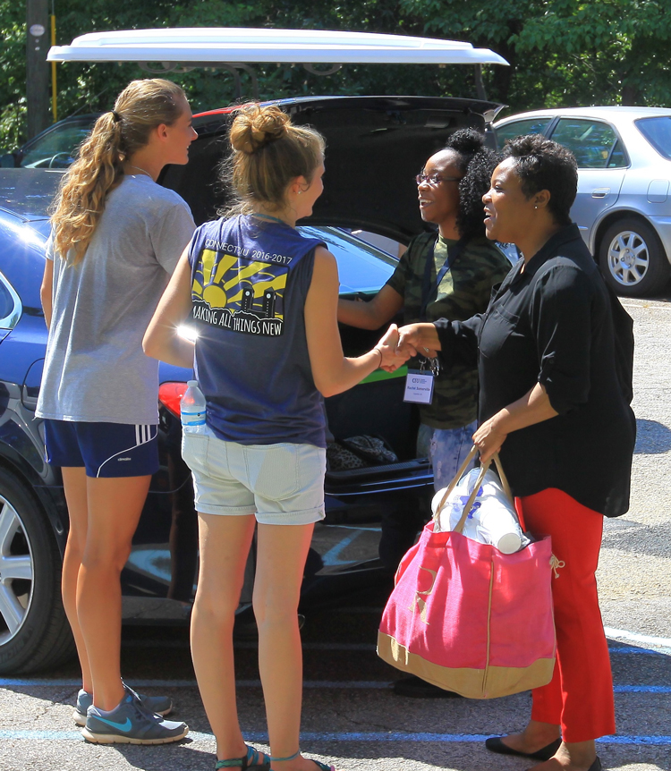 CIU freshman move-in day.