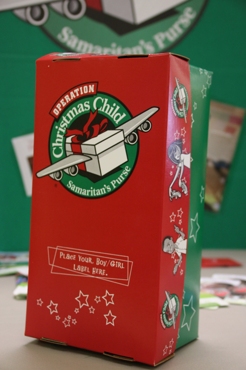Christmas Child Boxes.Genocide Survivor Tells Ciu Students How Operation Christmas