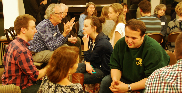 CIU students meet mission reps at World Christian Week