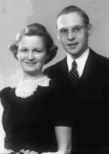 Will Norton and his wife Colene in 1939.