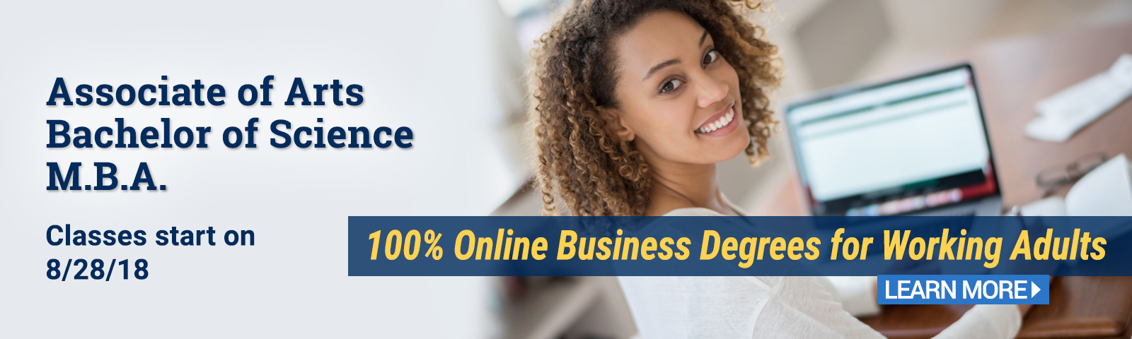 Earn your business degree fully online from CIU.