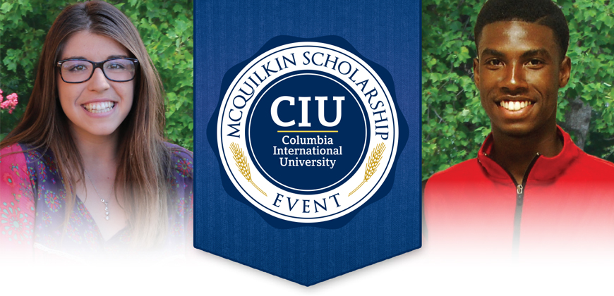 Qualified accepted students are invited to the McQuilkin Scholarship Event.