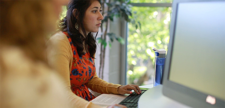 Students can complete their admissions application online.