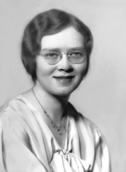 Virginia (White) Bendetti as a CBC student.
