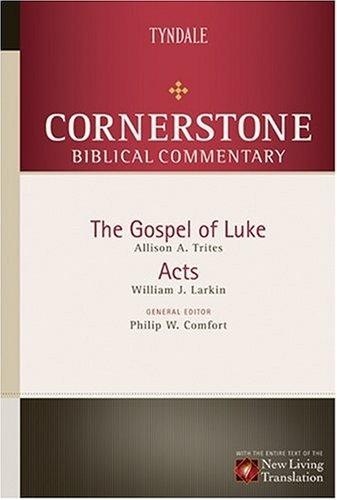 Cornerstone Biblical Commentary cover
