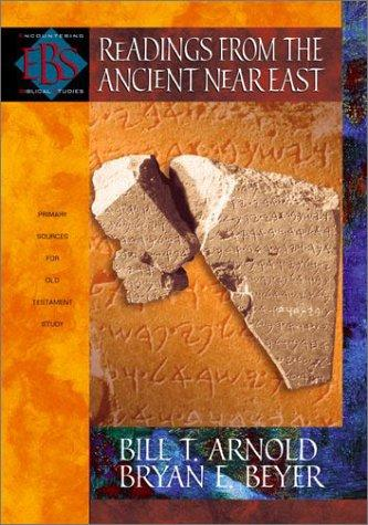 Readings from the Ancient Near East cover