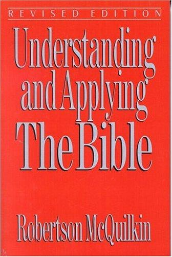 Understanding and applying the Bible cover