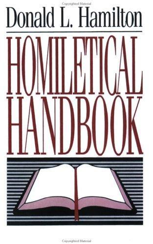 Homiletical Handbook cover