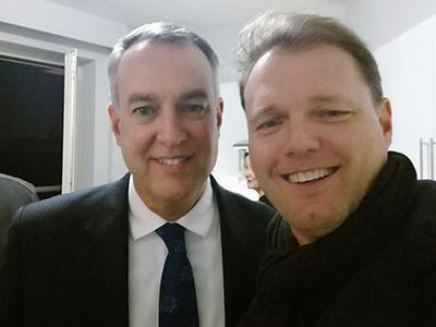 CIU alumni Carlton Deal and Raphael Anzenberger