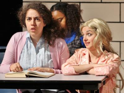 amilla Cruz (left) as Gabriella Montez and Ireland Kost as Sharpay Evans