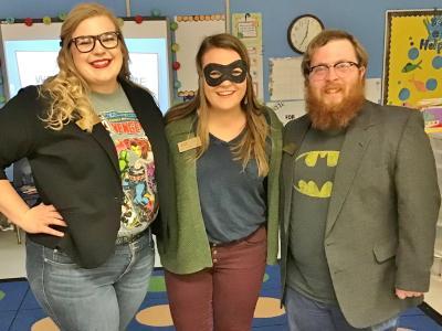 CIU MAT students are Super Heroes.