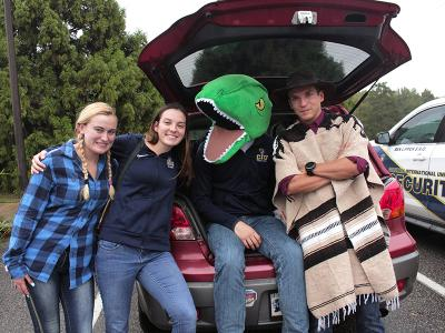 Trunk or Treat with the CIU Rams