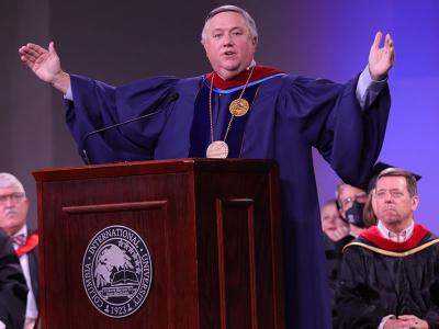 """President Dr. Mark Smith: """"Embrace the Word"""