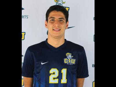 CIU Ram Romulo Barreto, NCCAA Student-Athlete of the Week