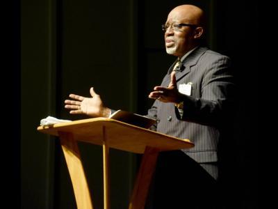Pastor James Dixon of El-Bethel Baptist Church in Maryland