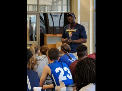 Danny Reese, an assistant basketball coach at CIU.