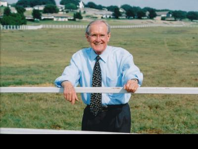 Ed Shipman was the founder of Happy Hill Farm and North Central Texas Academy