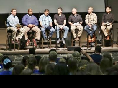 Evangelical Unity discussion at CIU.