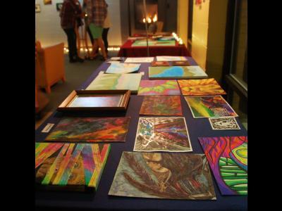 Artwork on display at CIU.