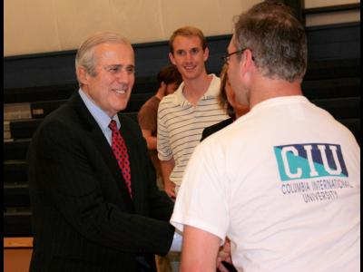 CIU Distinguished Alumnus Sam Moore