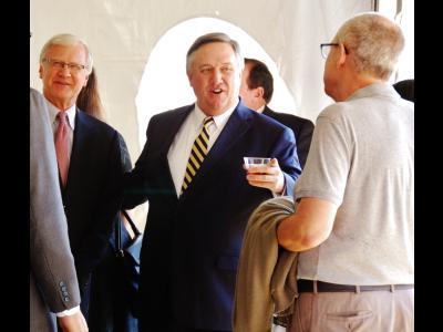 CIU President Dr. Mark Smith at inaugural reception