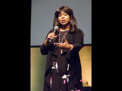 Jannique Stewart of the Life Training Institute