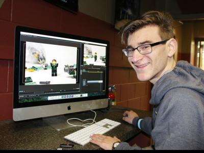 LEGO movie contest winner Johnathan Rabon
