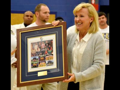 Former CIU Athletics Director Kim Abbott