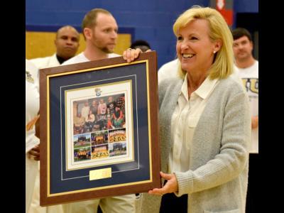 Former CIU Athletics Director Kim Abbott