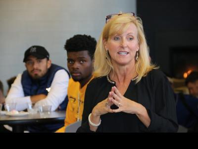 CIU Athletics Director Kim Abbott