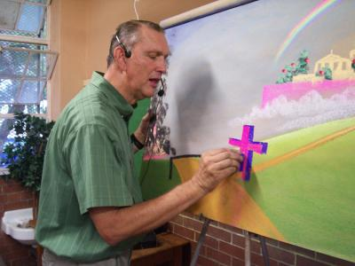 Paul Young, the founder of Drawing Others to Christ