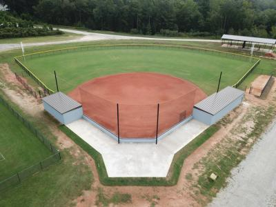 CIU softball field almost ready for new season.