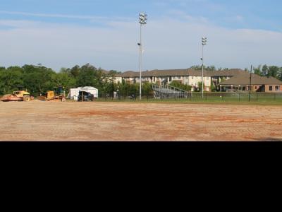 CIU softball field under construction