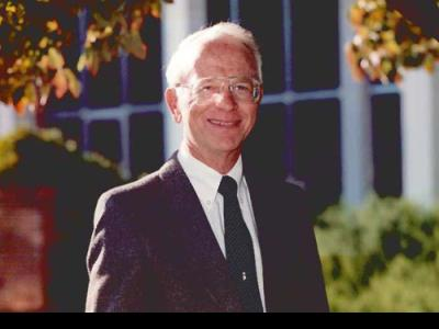 Dr. Bruce Shelley in 1987.