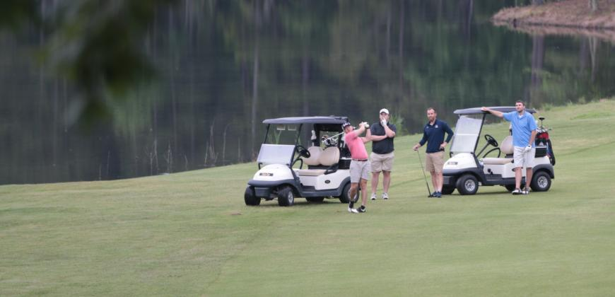 The second annual CIU Golf Classic.