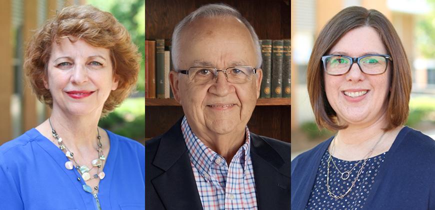 CIU Education Professors Drs. Lynn Hoestra, Milt Uecker, and Michelle Clevenger