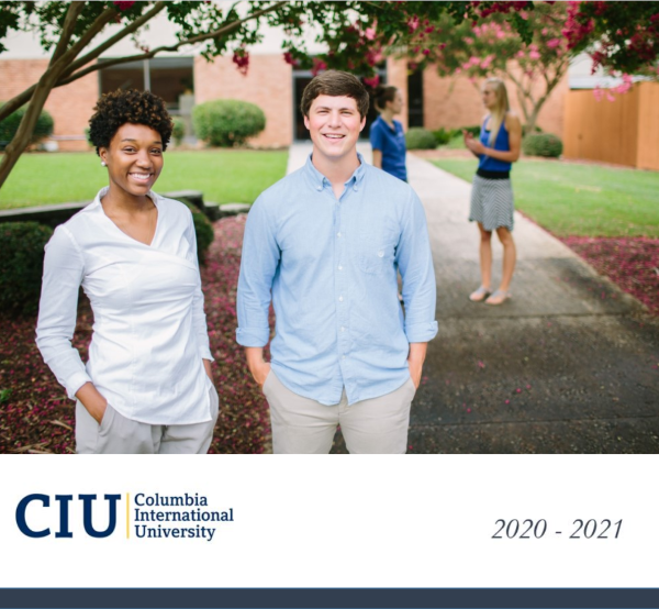 2020-2021 CIU Academic Catalog Cover